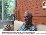 Rencontre avec Michel Serres, philosophe, historien des sciences et homme de lettre