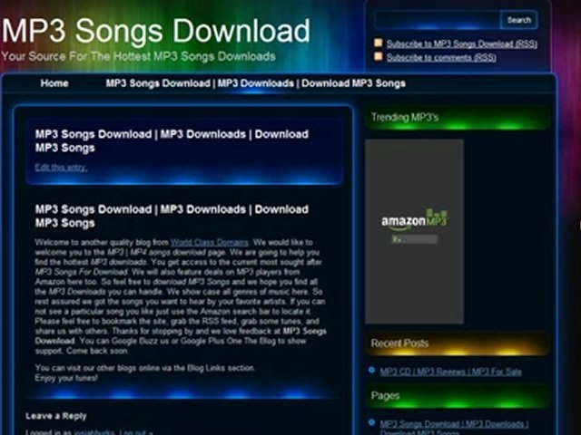 MP3 Songs Download | MP3 Downloads | Download MP3 Songs | Latest MP3 Songs