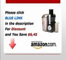 [Review]Hamilton Beach 67650 Big Mouth Pro Juice Extractor