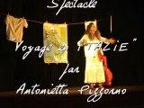 """Spectacle """"Voyage en Italie"""" pendant le festival de l'echo des mots"""