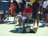 Ernests Gulbis 1st match at US Open 2011