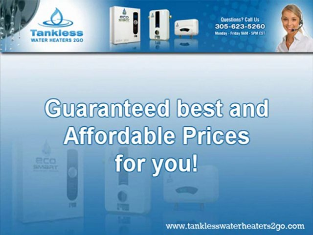 Best Tankless Hot Water Heaters