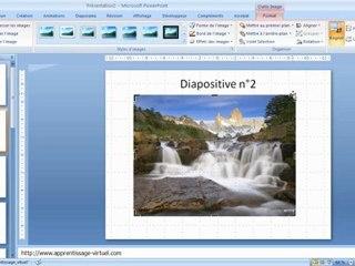 Visionnez les Cours Vidéo de Ajouter un fichier image Bmp dans powerpoint