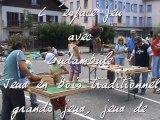 Espace jeu avec  ludambule festival echo des mots 2011
