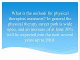 Facts About Physical Therapist Assistant Careers
