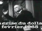 De Gaulle prédit la crise du dollar en 1965 et préconise l'étalon or