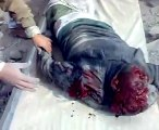 فيديو لم ينشر من قبل في غزة Massacre in Gaza / Massacre en palestine