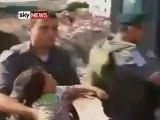 Palestine - Enfant de 5 ans défendant son père face aux soldats sionistes