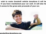 Goodwill Vehicle Donations | Points to Note While Making Goodwill Vehicle Donations