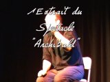 Archibald ,festival de  l'echo des mots 2011