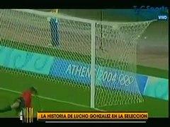 La historia de Lucho Gonzalez en la Seleccion Argentina