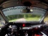 Rallye des hautes côtes 2011 ES7 David et Philippe Farge