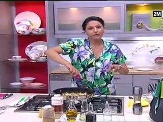 Choumicha recettes - Poisson au Raisin secs Amande et Riz