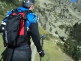 Grand Raid des Pyrénées 2011 : tps 5h - 23 km (barrage de Gréziolle) Episode 5/15
