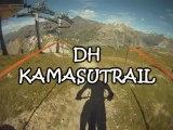vtt tignes 2011  DH KAMASUTRAIL et  DH BLACK METAL avec LOLO-RS a la cam