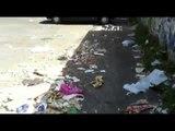 Aversa - Ancora irrisolta l'emergenza rifiuti nel parcheggio del Parco Pozzi