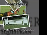 Horse Jumps -How to Build a Horse Jump Course