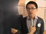 Nhà báo Lê Hồng Lâm chia sẻ tại lễ trao giải YxineFF 2010