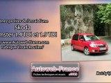 Essai Skoda Roomster 1.4 TDI et 1.9 TDI - Autoweb-France