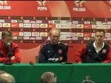 Konferencja prasowa reprezentacji Polski przed meczem Polska