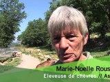 Marie-Noelle ROUSSEZ, éleveuse de chèvres dans les Alpes-Maritimes