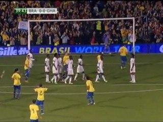 Powrót Ronaldinho, Brazylia wygrywa w Londynie