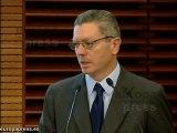 Gallardón defiende papel administraciones públicas