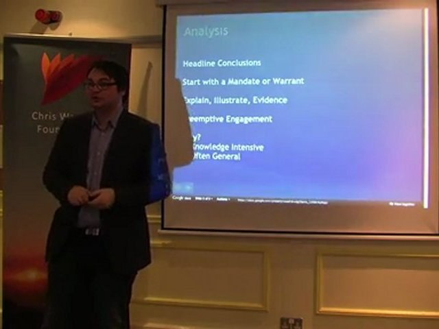 Michael Burgess - Introduction to Public Speaking