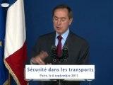 Inauguration du commissariat de la police régionale des transports dans le 18ème arrondissement de Paris