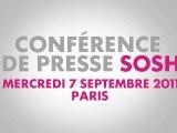 Conférence de presse Sosh 07/09/11 - Révélation de la gamme !