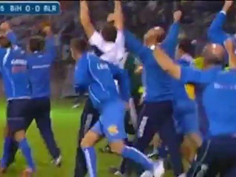 Bosnia 1-0 Bielorussia, Euro 2012
