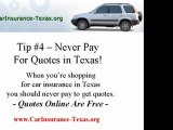 Get hold of Car Insurance Texas - Some More  Great Tips