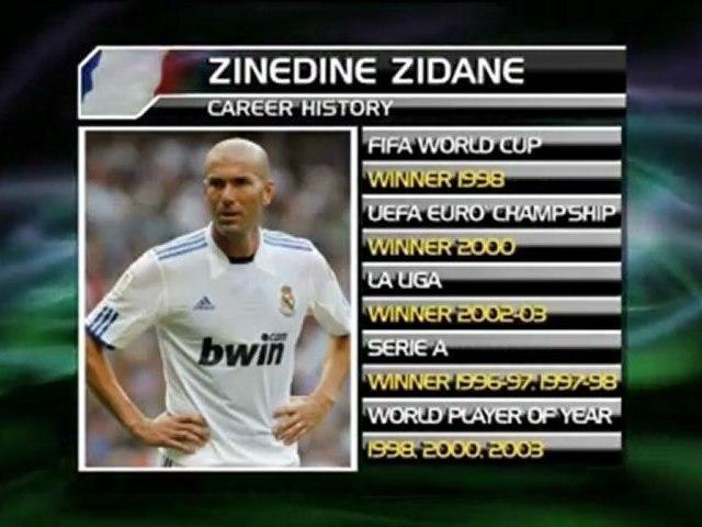 Młody Zidane trenuje z Realem