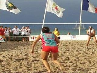 Beach Tennis - Finale Championnats de France 2011