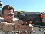 AirSplat On Demand: Palco Colt Licensed Airsoft 1911 CO2 Gas Blowback Pistol Gun GBB Episode 73