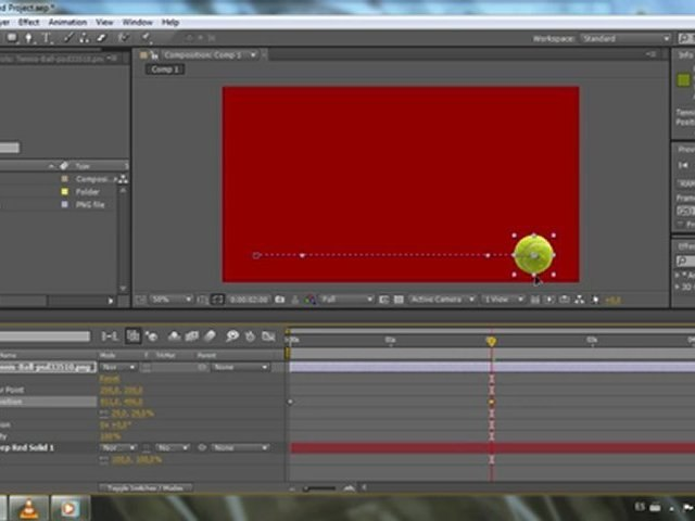 After Effects Basico - Crear fotogramas claves - Tutorial