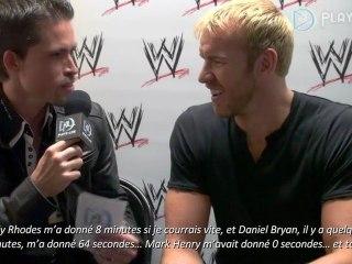 Interview de Christian de WWE 12