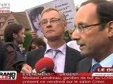 Primaires PS : Hollande sur les terres de Martine Aubry (Lille)