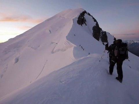 Ascension du Mont Blanc à l'ancienne