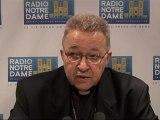 Entretien du Cardinal - Radio Notre Dame - 10/09/2011