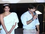 Hot Sonam Kapoor & Shahid Kapoor With Pankaj Kapoor At First Look Launch 'Mausam'