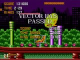 Let's Play Vector in Sonic the Hedgehog #3 Spring Yard Zone