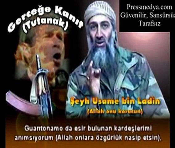 Usame Bin Laden 11 Eylül'ü Üstleniyor