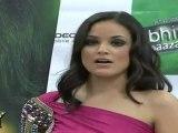 "Very Hot & Sexy Katrina Lopez In Pink Dress At First ""Bhindi Bazaar"" Press Meet03"