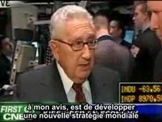 Kissinger Obama et le nouvel ordre mondial