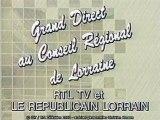 RTL Télévision en direct du Conseil Régional de Lorraine