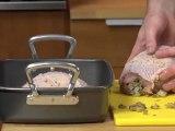 Sage apple and walnut stuffed turkey breast recipe