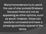 Star Pickets Have Many Uses and Benefits