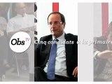 """Primaire PS : les candidats face à """"l'Obs"""""""