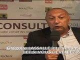 ALLOCINE - Grégoire LASSALLE, PDG - Intervenant au Salon CONSULT DAY 2011